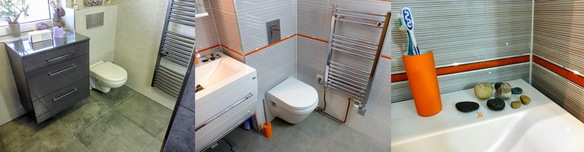 Obklady koupelen a toalet