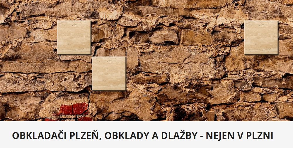 Práce obkladače v Plzni