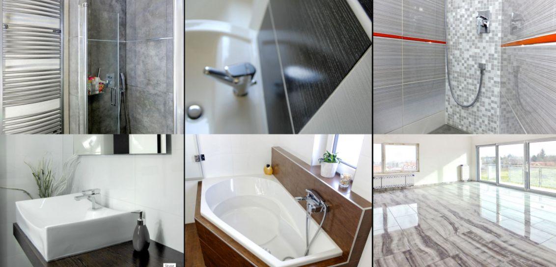 rekonstrukce koupelny - obložení podlah